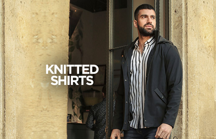 Men Knitted Shirts