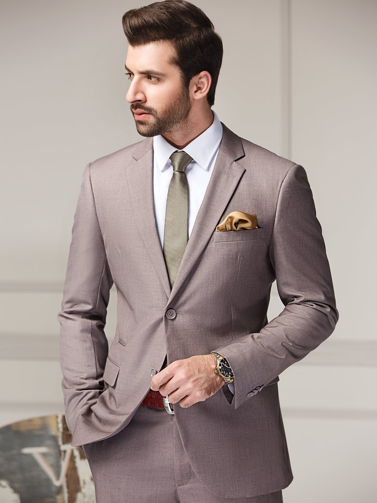 Single Breasted Suit EMTSB18SF-8093