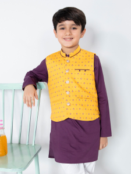 EBTWCS21-25136 - Yellow & Purple