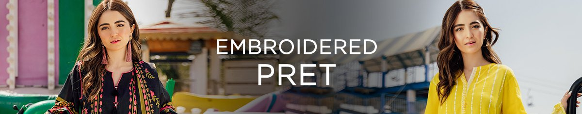 Embroidered Pret 21